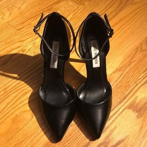 Black Patent Leather Heels from Steve Madden